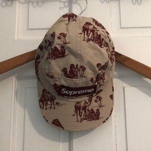 d56643d4 Supreme Accessories | Camel 5 Panel Hat | Poshmark